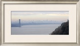 George Washington Bridge at Dawn Print by Hank Gans