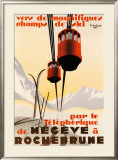 Megeve Prints by Pierre Michaud