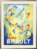 Brault Framed Giclee Print by Philippe Noyer