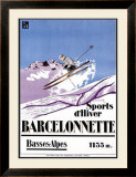 Barcelonnette Framed Giclee Print
