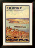 Europe by the Panoramic Saint-Lawrence River Route Art