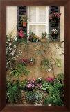Valbonne Window Poster by Dennis Barloga