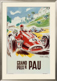 Grand Prix de Pau Art by Geo Ham