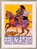 Sevilla Framed Giclee Print by  Hohenleiter