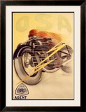 Osa, Liberty Framed Giclee Print by Raoul Vion