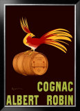 Albert Robin Cognac Framed Giclee Print by Leonetto Cappiello