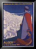 Alger Framed Giclee Print by Roger Broders