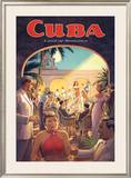 Cuba, Land of Romance Prints by Kerne Erickson