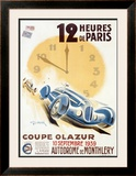 Coupe Olazur Framed Giclee Print by Geo Ham
