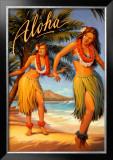 Aloha, Hawaii Prints by Kerne Erickson
