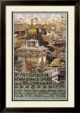 VIII Esposizone International Venezia Framed Giclee Print by Augusto Sezanne