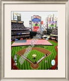 2009 Citi Field Inaugural Game National Anthem Framed Photographic Print