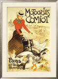 Motocycles Comiot Poster by Théophile Alexandre Steinlen