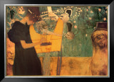 The Music Prints by Gustav Klimt