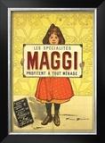 Specialites Maggi Prints by Firmin Etienne Bouisset