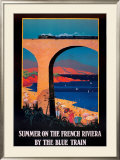 Summer on the French Riviera Posters