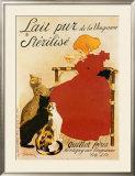 Lait Sterilise Prints by Théophile Alexandre Steinlen