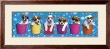 Shady Pups Poster by Keith Kimberlin