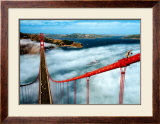 Golden Gate Bridge, San Francisco Poster by Roger Ressmeyer
