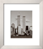 World Trade Center and Financial Center Poster by Walter Gritsik