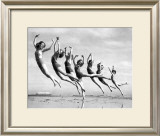 Lillian Newman's Dancers Framed Giclee Print