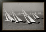Cowes Week Poster by Philip Plisson