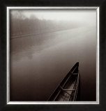 Tranquil Boat Posters by Michael Kenna