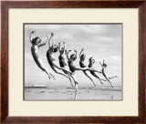 Lillian Newman&#39;s Dancers Framed Giclee Print