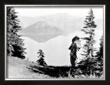Northwest Nez Perc Framed Giclee Print by Edward S. Curtis