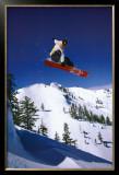 Snowboarder Print