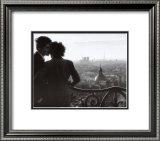 Les Amoureux de la Bastille, c.1957 Poster by Willy Ronis