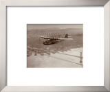 China Clipper in Flight over San Francisco, California 1939 Prints by Clyde Sunderland