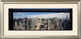 Midtown Window, New York Print by Torsten Hoffman