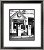 Esso Gas Station Framed Giclee Print