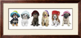 Hat Hounds Poster by Keith Kimberlin