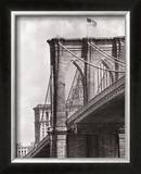 Brooklyn Bridge Perspective Posters by Phil Maier