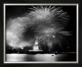 Statue of Liberty- Bicenntenial Celebration Framed Photographic Print