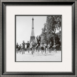 Champs de Mars Gardens Art by Robert Doisneau