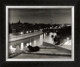 Paris, Cats at Night Posters by Robert Doisneau
