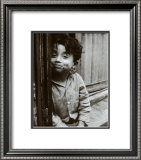 Cute Kid Print by Sabine Weiss