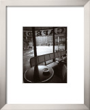 Cafe de Flore Prints by Jeanloup Sieff