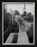Marilyn Monroe en el Hotel Ambassador, Nueva York, c.1955 Arte por Ed Feingersh