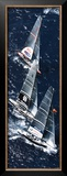 Fleet to the Mark, 32nd America's Cup Posters by Gilles Martin-Raget