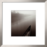 Tranquil Boat Prints by Michael Kenna