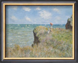 Cliff Walk at Pourville, 1882 Prints by Claude Monet