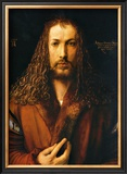 Self Portrait Framed Giclee Print by Albrecht Dürer