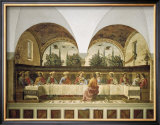 Last Supper Prints by Domenico Ghirlandaio
