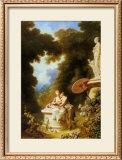 L'Amour-Amitie Print by Jean-Honoré Fragonard