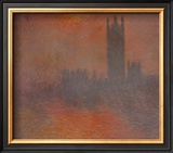 London Houses of Parliament Art by Claude Monet
