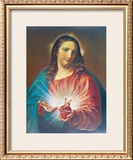 Sacred Heart of Jesus Prints by Pompeo Batoni